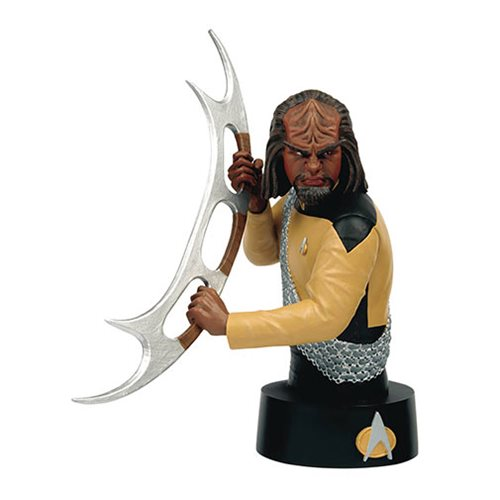 Star Trek Bust Collection Worf with Collector Magazine #3