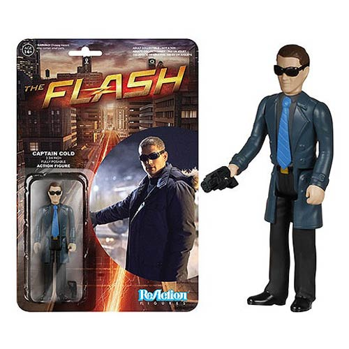 Flash TV Series Captain Cold ReAction 3 3/4-Inch Retro Action Figure