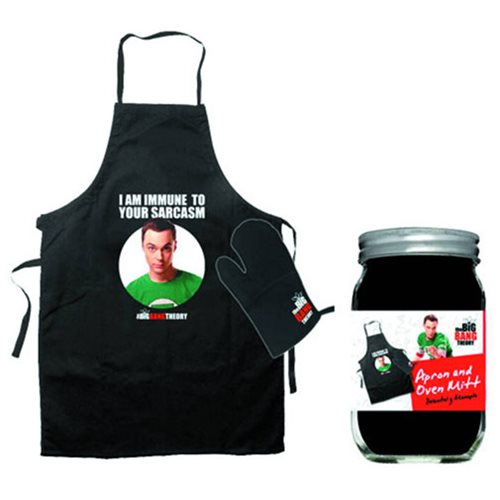 Big Bang Theory Immune Apron and Glove Set