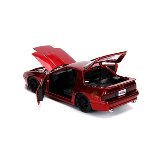 JDM Tuners 1985 Mazda RX-7 FC Candy Red 1:24 Scale Die-Cast Metal Vehicle