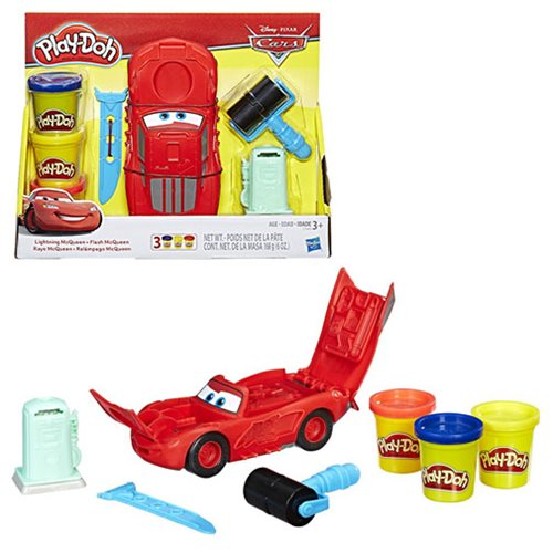 Cars Play-Doh  Lightning McQueen