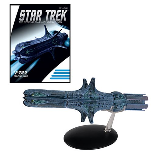Star Trek Starships V'ger Special 16 Vehicle with Collector Magazine