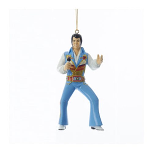 Elvis Presley Prehistorical Suit 4 1/2-Inch Resin Ornament