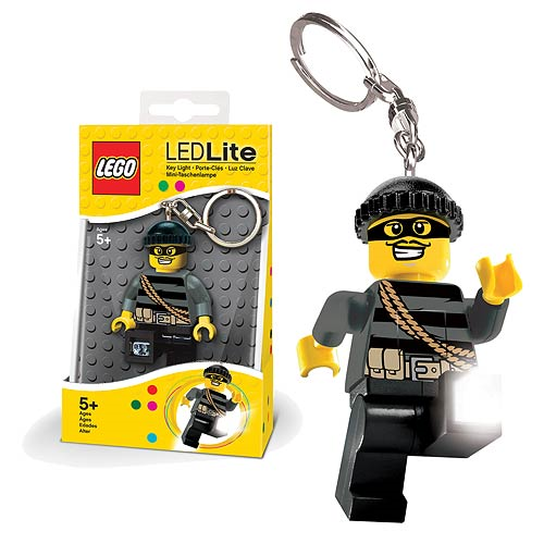 LEGO City Mastermind Minifigure Flashlight
