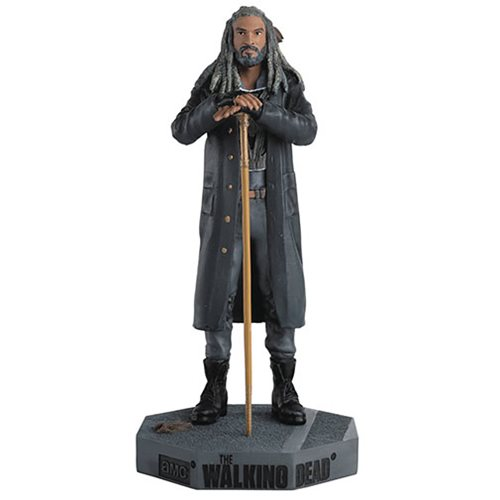 The Walking Dead Ezekiel Figurine with Collector Magazine #31