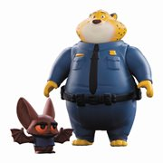 Zootopia Clawhauser and Bat Eyewitness Mini-Figure 2-Pack