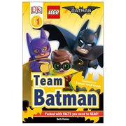 The LEGO Batman Movie: Team Batman DK Readers 1 Hardcover Book