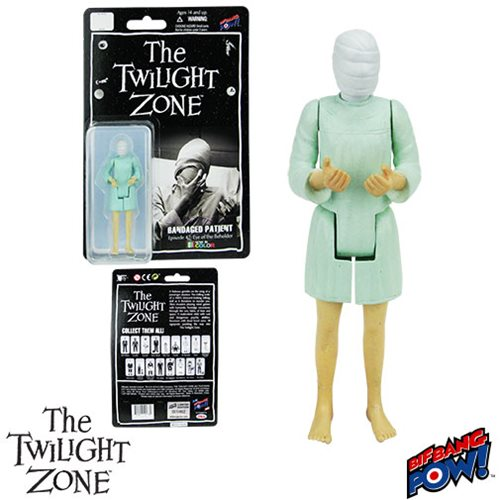 The Twilight Zone Eye of the Beholder Bandaged Patient 3 3/4-Inch Action Figure In Green Series 2