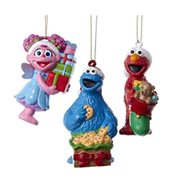 Sesame Street Presents Blow Mold Ornament Set