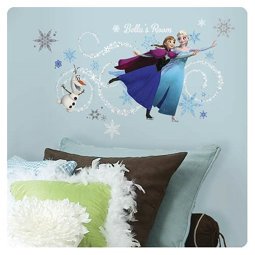 Disney Frozen Custom Headboard Peel and Stick Giant Wall Decal