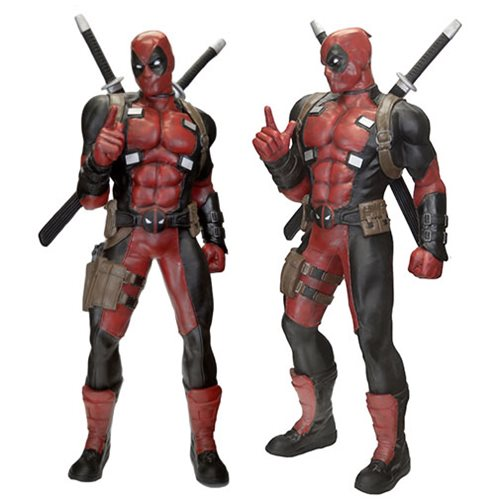 Deadpool Marvel Classics Life-Size Statue Foam Replica