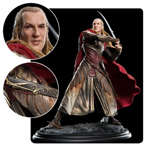 Lord of the Rings Haldir at Helm's Deep 1:6 Scale Statue