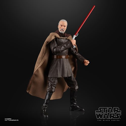 Star Wars The Black Series Count Dooku 6-Inch Action Figure