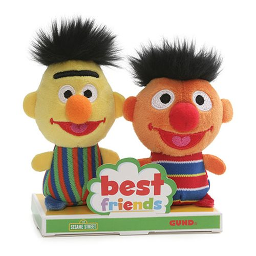 Sesame Street Bert and Ernie BFF Plush Set