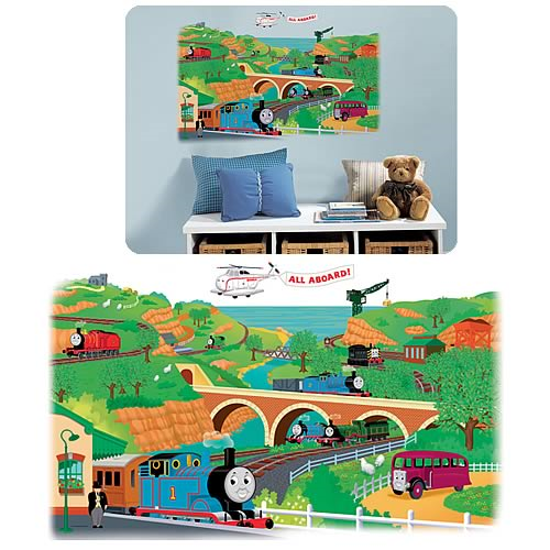 Thomas and Friends Peel and Stick Giant Mural