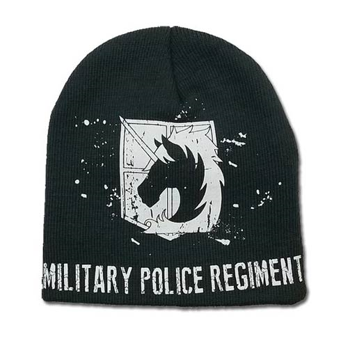 Attack on Titan Military Police Unfold Beanie Hat
