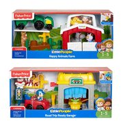 Little People Garage and Farm Playset Case