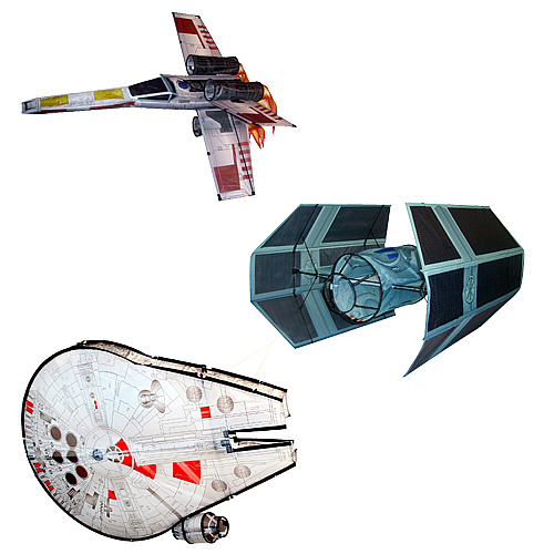 Star Wars Vehicles 3-D Kites Case