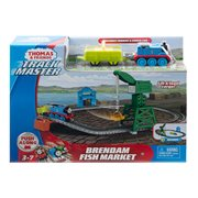 Thomas & Friends Track Master Brendam Fish Market Playset