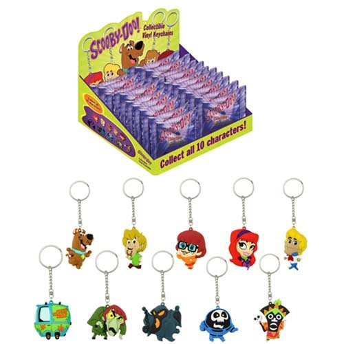 Scooby Doo Vinyl Key Chain Random 4 Pack