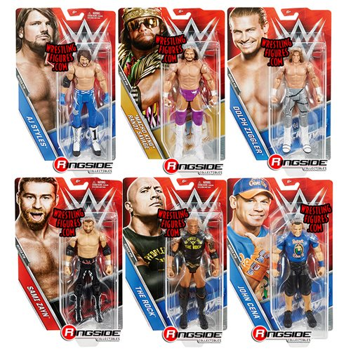 WWE Basic Figure Series 76 Action Figure Case
