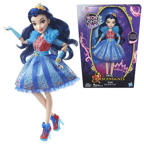 Disney Descendants Neon Lights Feature Evie Isle of the Lost Doll, Not Mint