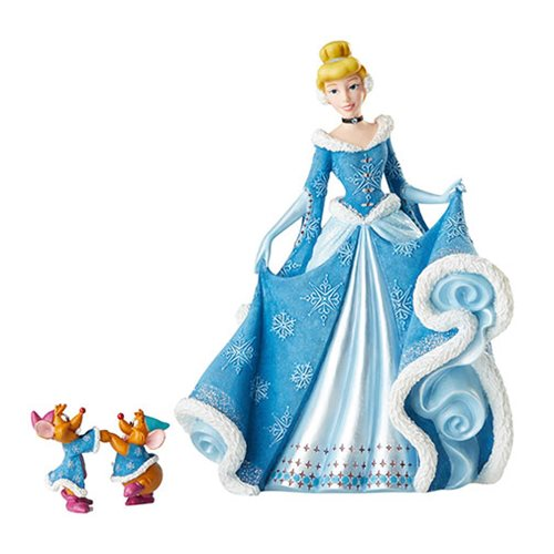 Disney Showcase Holiday Cinderella with Mice Statue