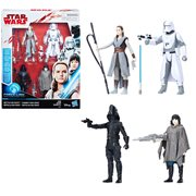 Star Wars: The Last Jedi Battle on Crait 3 3/4-Inch Action Figure Set