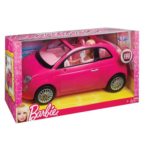 Barbie Doll and Fiat Vehicle Set