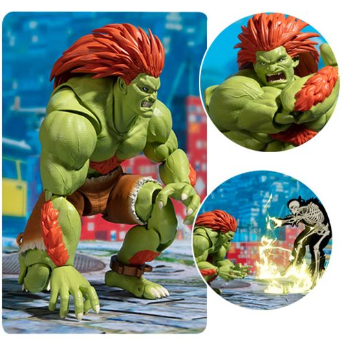 Street Fighter Blanka SH Figuarts Action Figure