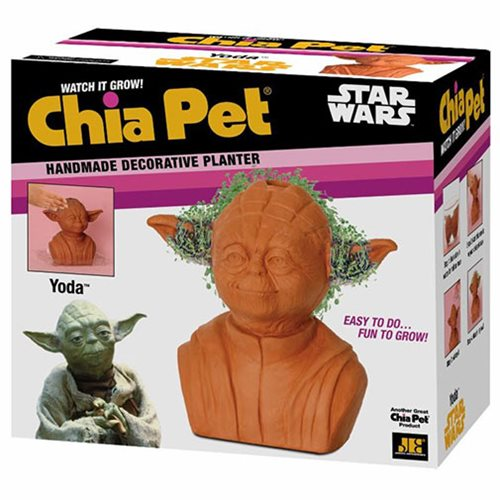 Star Wars Yoda Chia Pet