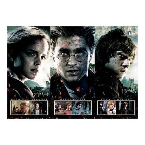 Harry Potter Beginning to End MightyPrint Wall Art Print