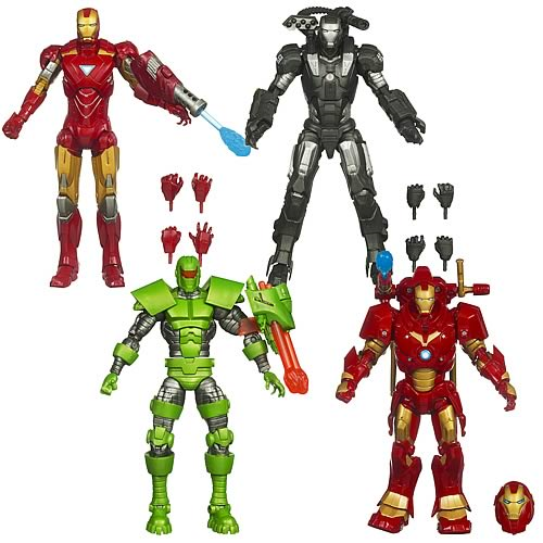 Iron Man 6-inch Marvel Legends Action Figures Wave 2