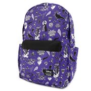 Villains Icons Print Nylon Backpack