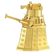 Doctor Who Gold Dalek Metal Earth Model Kit