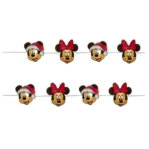 Micky Mouse and Minnie Mouse LED Fairy Light Set