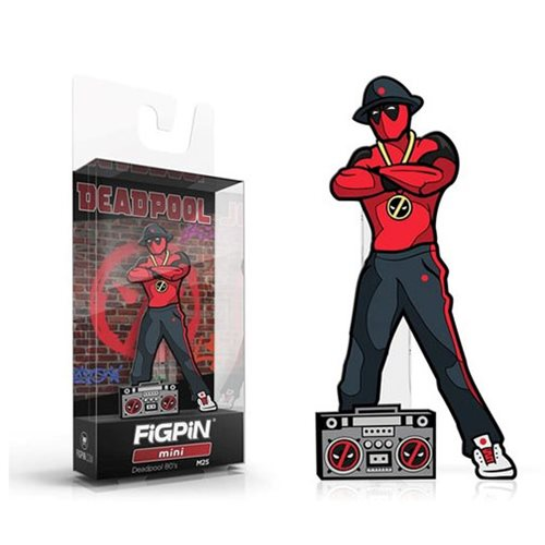 Deadpool 1980s FiGPiN Mini Enamel Pin