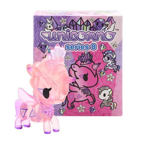 Tokidoki Unicorno Series 8 Vinyl Figure Display Box
