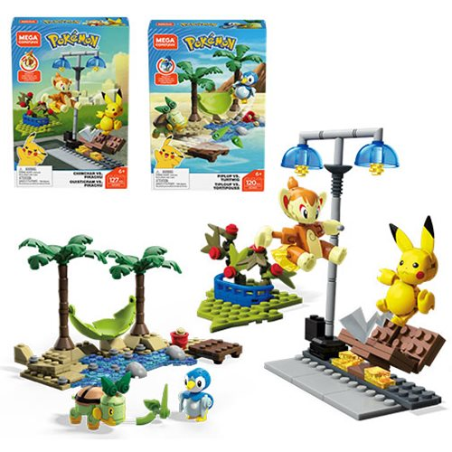Pokemon Mega Construx Battle Set Wave 8 Case