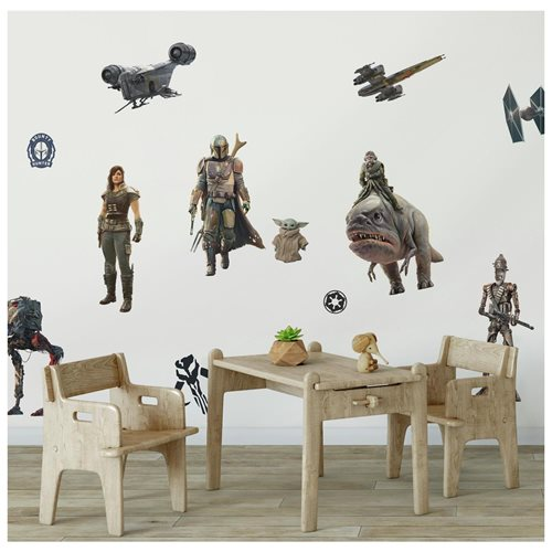 The Madalorian Peel and Stick Wall Decals