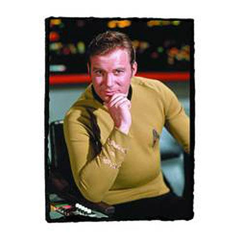 Star Trek Captain Kirk Granix Art Plaque