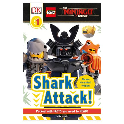 The LEGO Ninjago Movie Shark Attack DK Readers 1 Hardcover Book