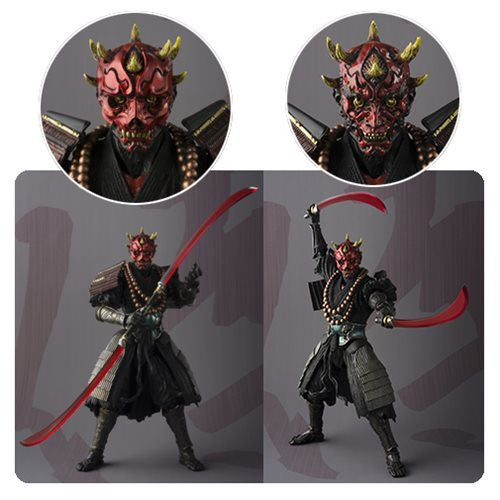 Star Wars The Force Awakens Samurai Sohei Darth Maul Action Figure