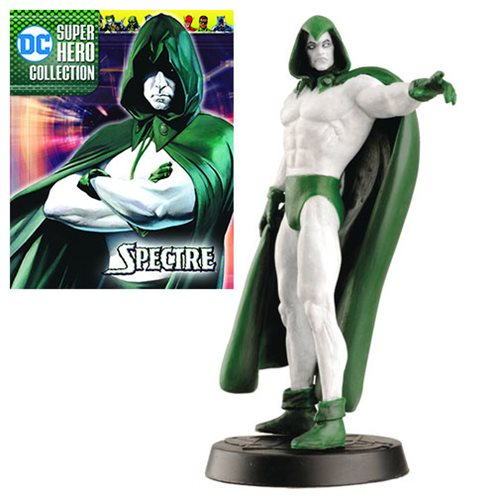 DC Superhero Spectre Best Of Figure with Collector Magazine #34