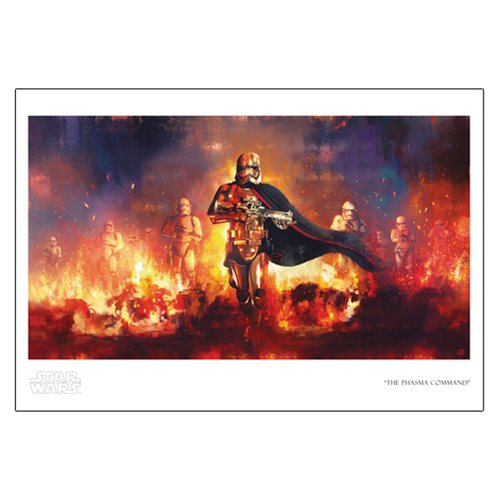 Star Wars The Phasma Command by Akirant Paper Giclee Art Print