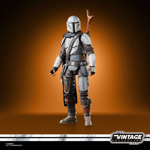 Star Wars The Vintage Collection The Mandalorian (Full Beskar) 3 3/4-Inch Action Figure Figure