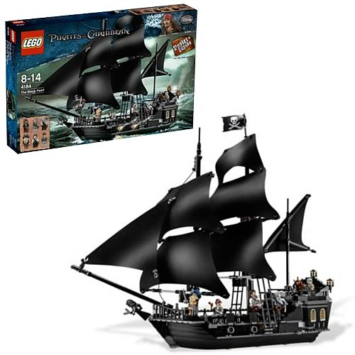 LEGO Pirates of the Caribbean 4184 Black Pearl