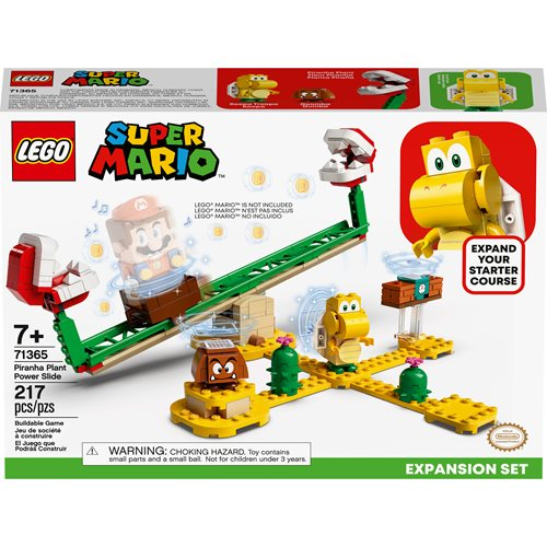 LEGO 71365 Super Mario Piranha Plant Power Slide Expansion Set