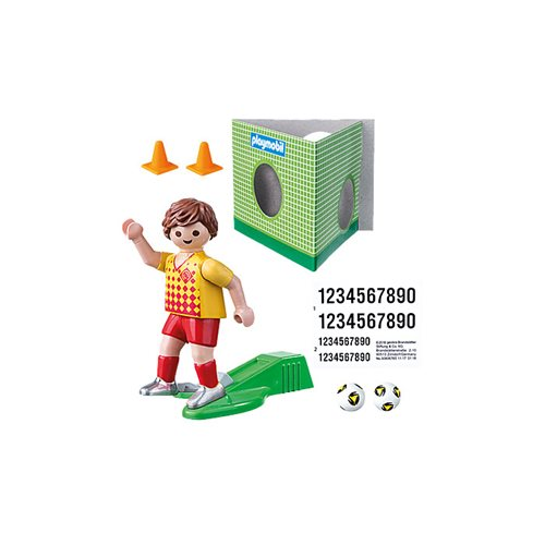 Playmobil 70157 Special Plus Soccer Player with Goal Action Figure