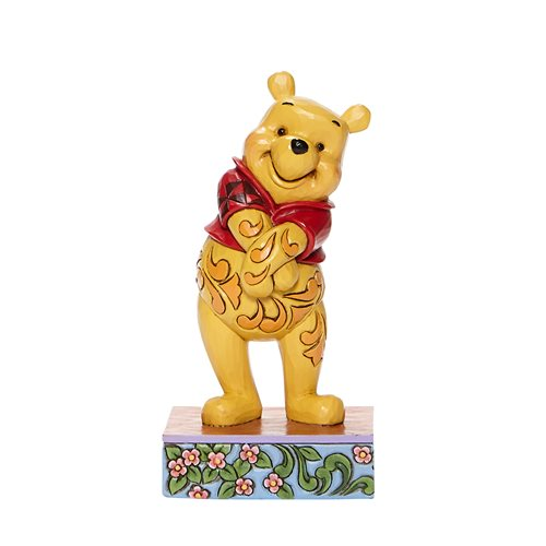 Disney Traditions Pooh Standing Personality Pose Beloved Bear by Jim Shore Statue